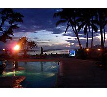 Fijian Dusk Photographic Print