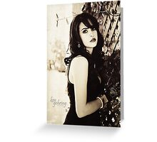 Classic Beauty Greeting Card