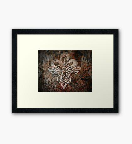 Celtic Knotwork - 203 Framed Print