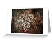 Celtic Knotwork - 203 Greeting Card