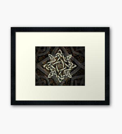 Celtic Knotwork - 208 Framed Print
