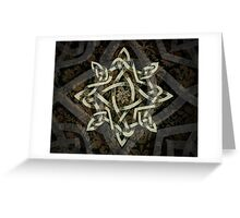 Celtic Knotwork - 208 Greeting Card