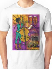 That Sistah on the Bass T-Shirt Unisex T-Shirt