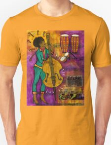 That Sistah on the Bass T-Shirt T-Shirt