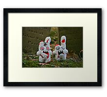 Zombies Suck! Framed Print