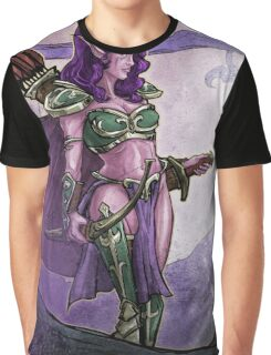 Elf Huntress Graphic T-Shirt