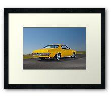 Holden HQ GTS Monaro Framed Print