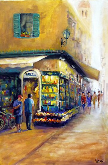Going shopping (Italy) by Ivana Pinaffo
