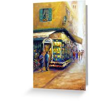 Going shopping (Italy) Greeting Card