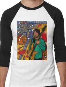 The Music Lover T-Shirt Men's Baseball ¾ T-Shirt