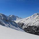 White peaks by zumi