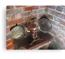 An Old Copper Kettle Canvas Print