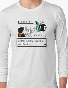 harry potter battle Long Sleeve T-Shirt