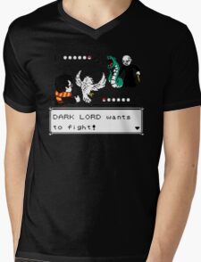 harry potter battle Mens V-Neck T-Shirt