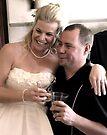 """Newlyweds Toast Each Other"" by waddleudo"