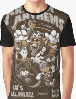Bat's All, Folks! Graphic T-Shirt