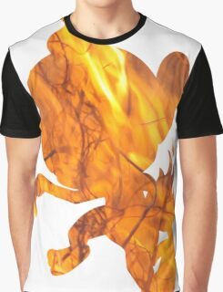 Chimchar used Flame Wheel Graphic T-Shirt