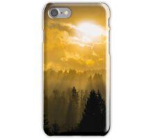 Fluttering Gold iPhone Case/Skin
