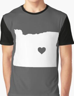 Oregon Heart Graphic T-Shirt