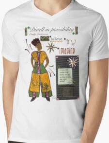 Dwell in Possibility T-Shirt Mens V-Neck T-Shirt