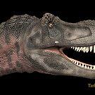 Tarbosaurus by Walter Colvin