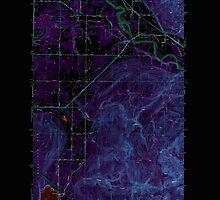USGS Topo Map Washington State WA Lawrence 241959 1952 24000 Inverted by wetdryvac