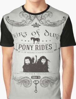 Heirs of Durin Pony Rides Graphic T-Shirt