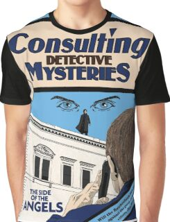 Consulting Detective Mysteries Graphic T-Shirt