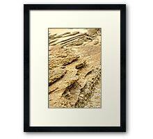 Rock Ledges Framed Print