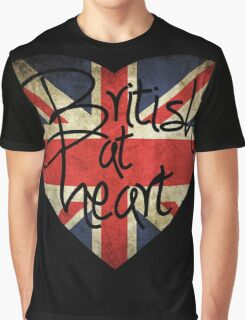 British at Heart Graphic T-Shirt
