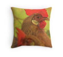 Chicken The Forgotten Bird Throw Pillow