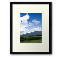 Nor'Westerly on the Plains Framed Print