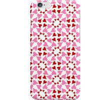 Red and pink heart design iPhone Case/Skin