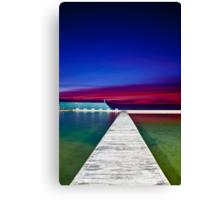 Colour Filled Sunrise Canvas Print