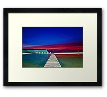 Colourful Sunrise Framed Print