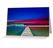 Colourful Sunrise Greeting Card