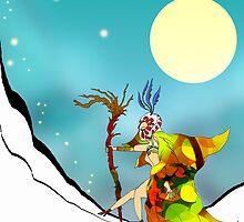Snow Climb by Grant Wilson