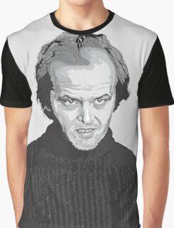 Jack Nicholson (Jack Torrance) The Shining  Graphic T-Shirt