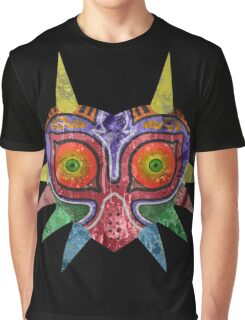 Majora's Mask Splatter Graphic T-Shirt