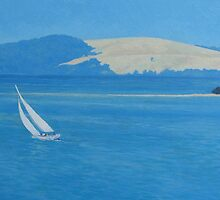Rounding Green Island by Cary McAulay
