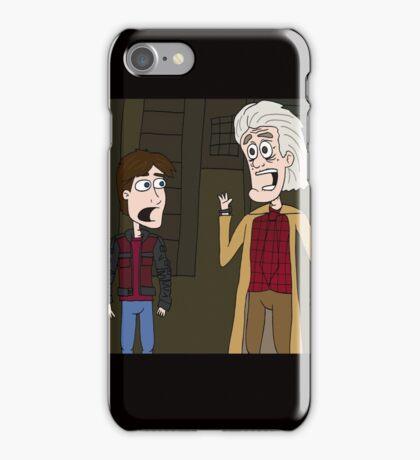 """BttF - Weds, October 21, 2015 ...""""*Size Adjusting - Fit*"""" iPhone Case/Skin"""