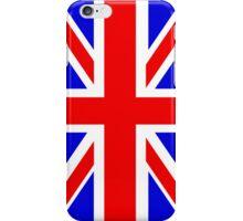 Union Jack Flag of the UK iPhone Case/Skin