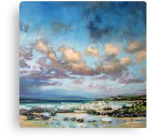 Uist Crofts Canvas Print