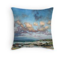 Uist Crofts Throw Pillow