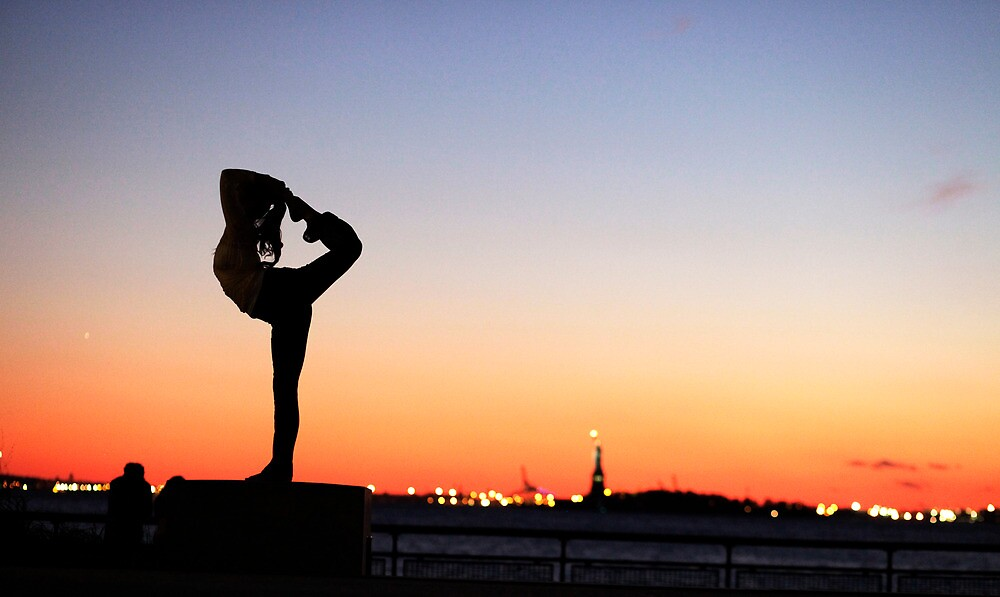 Minhee Cha in New York by Wari Om  Yoga Photography