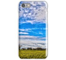 Canola Fields Castlemaine VIC iPhone Case/Skin