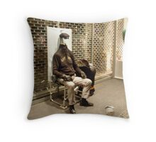 Invisible man: Germany Throw Pillow