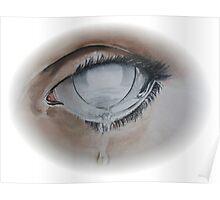 Licht te zout voor het oog (light too salty for the eye) Poster