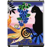 Social Visitor by Ro London - Menagerie Collection iPad Case/Skin