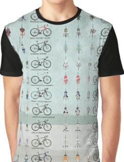 Pro Cycling Teams Graphic T-Shirt